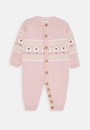 OVERALL FLUFFY & LOVELY - Mono - rosa