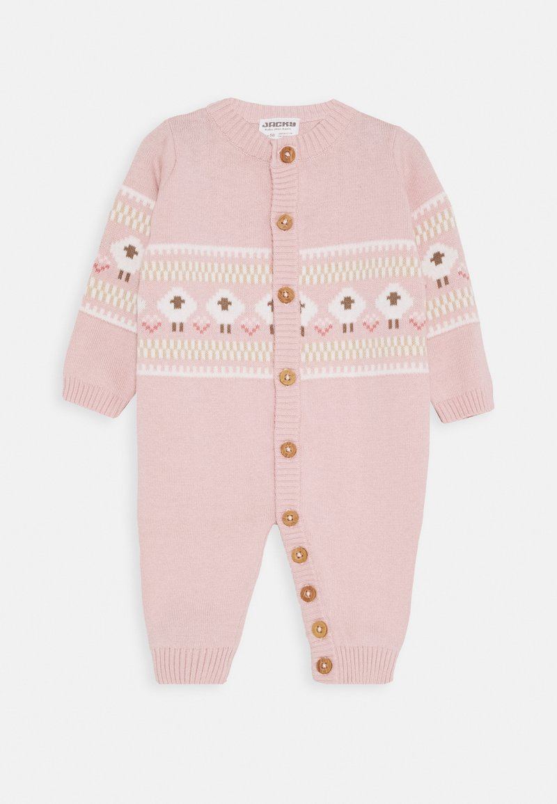 Jacky Baby - OVERALL FLUFFY & LOVELY - Jumpsuit - rosa