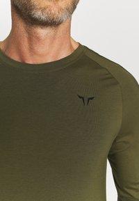 SQUATWOLF - LIMITLESS FULL SLEEVES TEE - Long sleeved top - khaki - 4