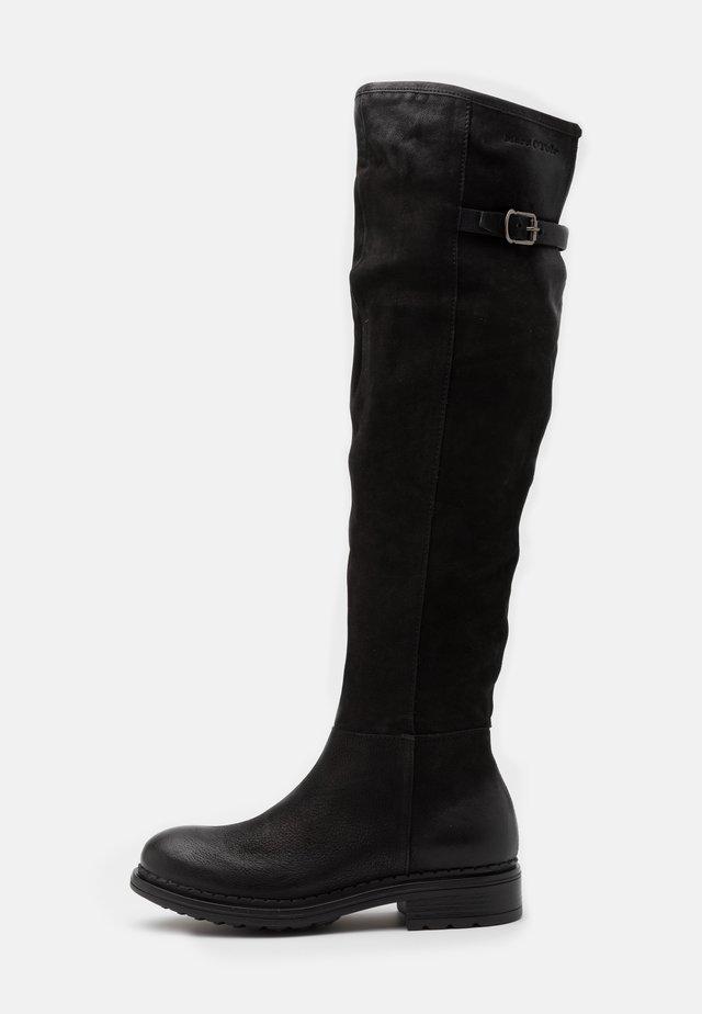 NAKANA - Vysoká obuv - black