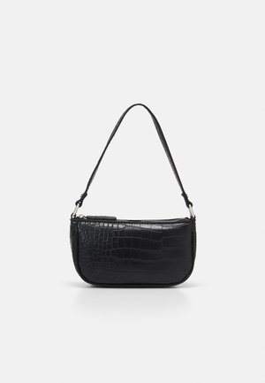BRENDA CROC MINI SHOULDER BAG - Handbag - black