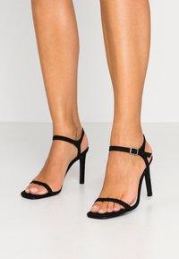 Nly by Nelly - SQUARE  - Sandaler med høye hæler - black - 0