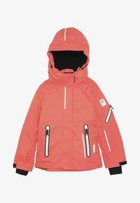 Reima - FROST - Snowboard jacket - bright salmon - 4