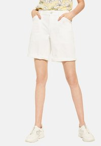 comma casual identity - Denim shorts - white - 4
