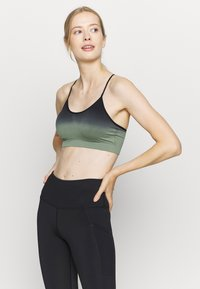 South Beach - GRADIENT STRAPPY  - Light support sports bra - black - 0