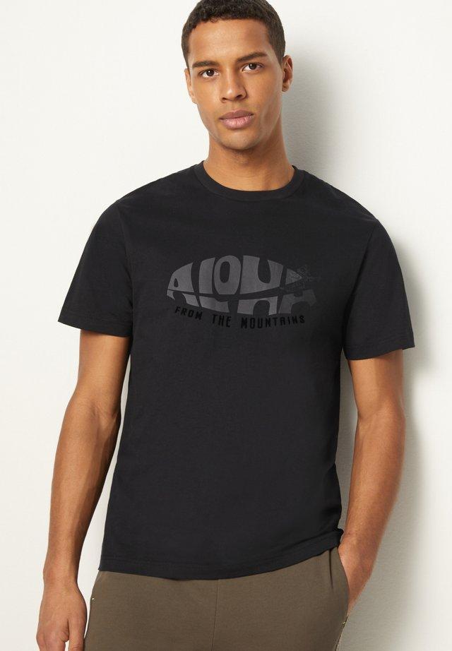 VITO - T-shirt print - schwarz