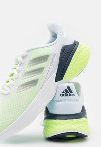 adidas Performance - RESPONSE SR - Neutral running shoes - footwear white/silver metallic/hi-res yellow - 5