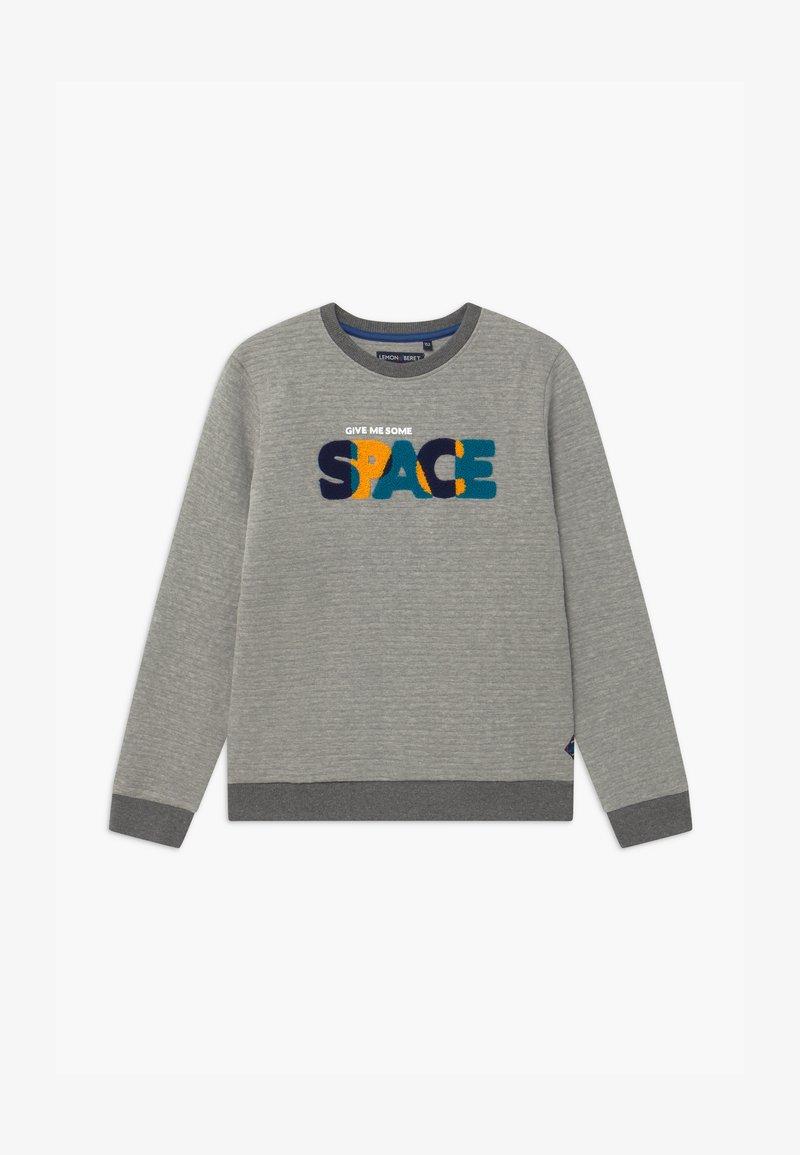 Lemon Beret - TEEN BOYS - Sweatshirt - grey melange