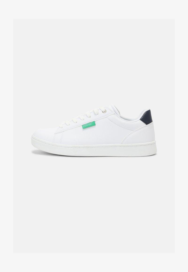 Benetton - LABEL - Trainers - white/deep