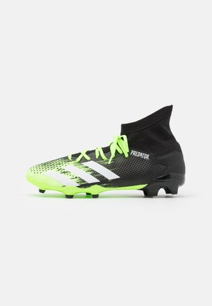PREDATOR 20.3 FOOTBALL BOOTS FIRM GROUND - Moulded stud football boots - signal green/footwear white/core black
