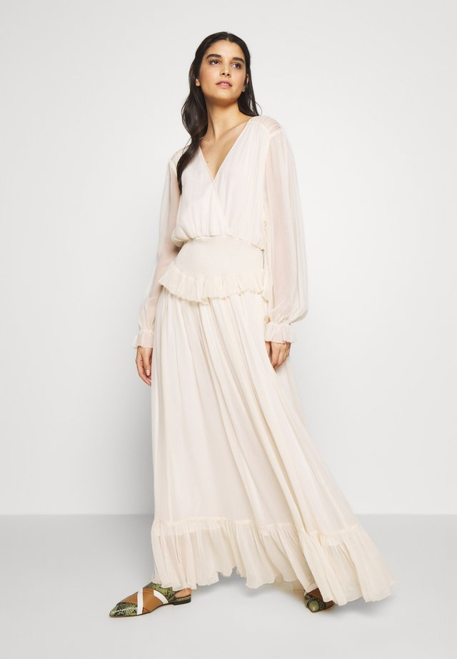 MINDY EXCLUSIVE LONG DRESS - Abito da sera - lemonade