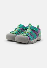 Keen - NEWPORT H2 UNISEX - Walking sandals - katydid/african violet - 1