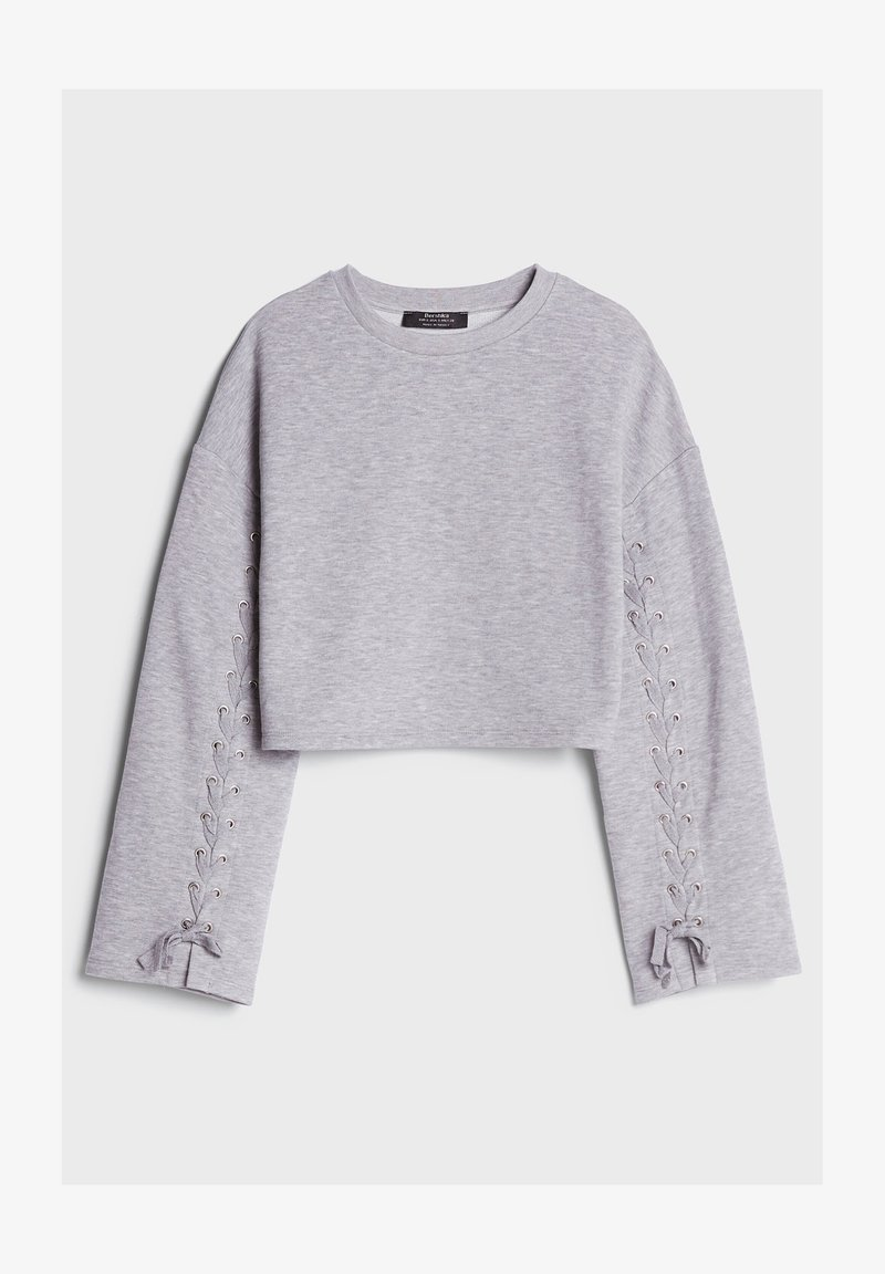 Bershka - Sweatshirts - light grey
