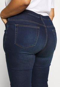 JUNAROSE - by VERO MODA - JRFOUR JAIME  - Jeans Skinny Fit - dark blue denim - 3