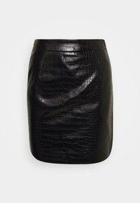 JCROCO - Mini skirt - noir
