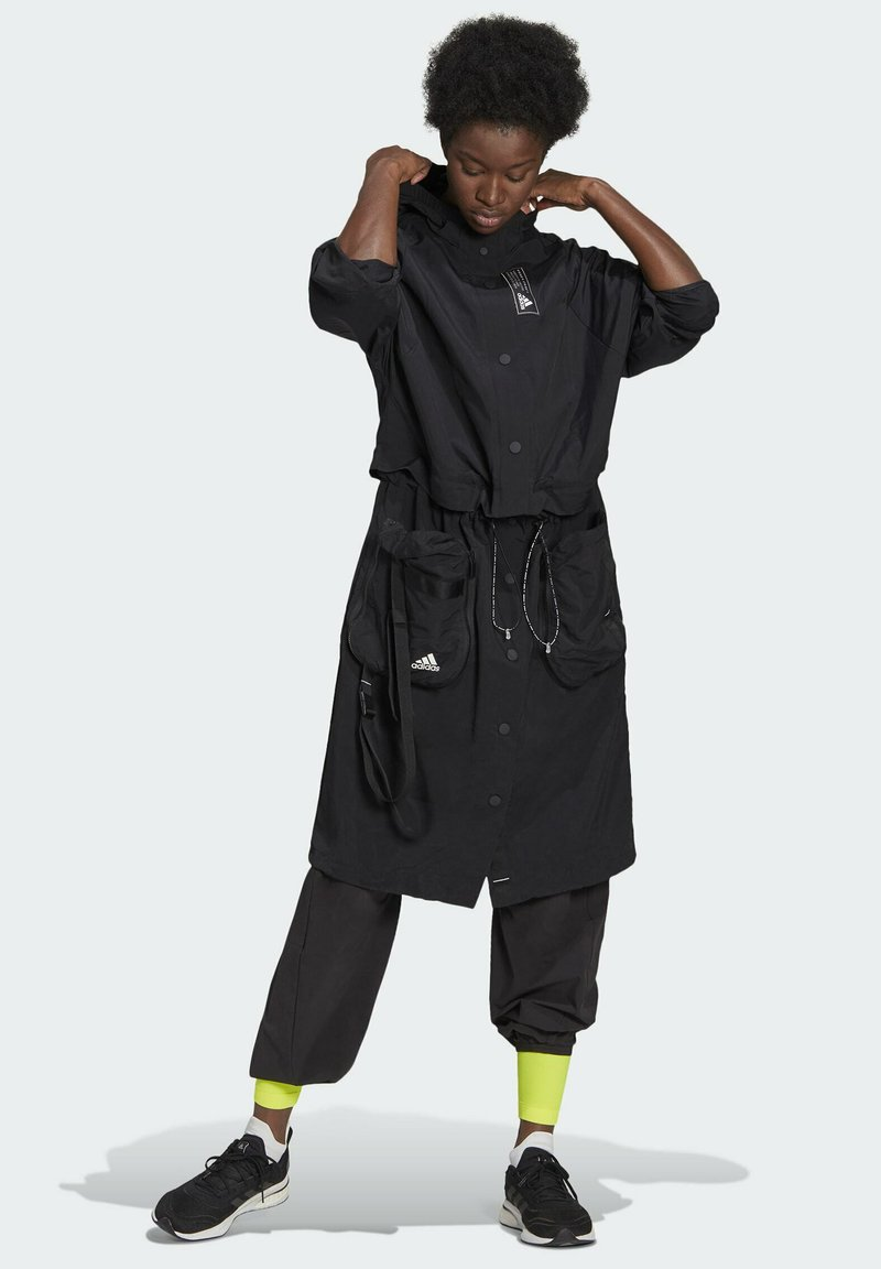 adidas Performance - Three-in-One PARKA SPORTS LOOSE JACKET - Parka - black