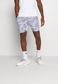 adidas Performance - PRINTED SHORT - Sports shorts - grey - 0