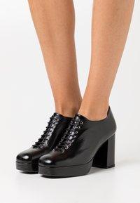 Jonak - VERENA - High heeled ankle boots - noir - 0