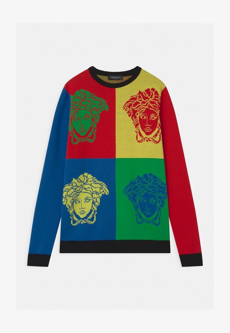 Versace - MAGLIA JUNIOR BOY - Svetr - multicolor