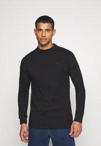 G-Star - KORPAZ MOCK  - Långärmad tröja - black - 0