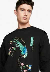 Diamond Supply Co. - PERCHED TEE  - Long sleeved top - black - 4