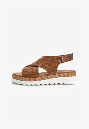 Platform sandals - mntrl coconut ncc