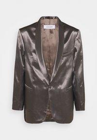 Martin Asbjørn - PARKER TUXEDO - Blazer jacket - smoky quartz - 0
