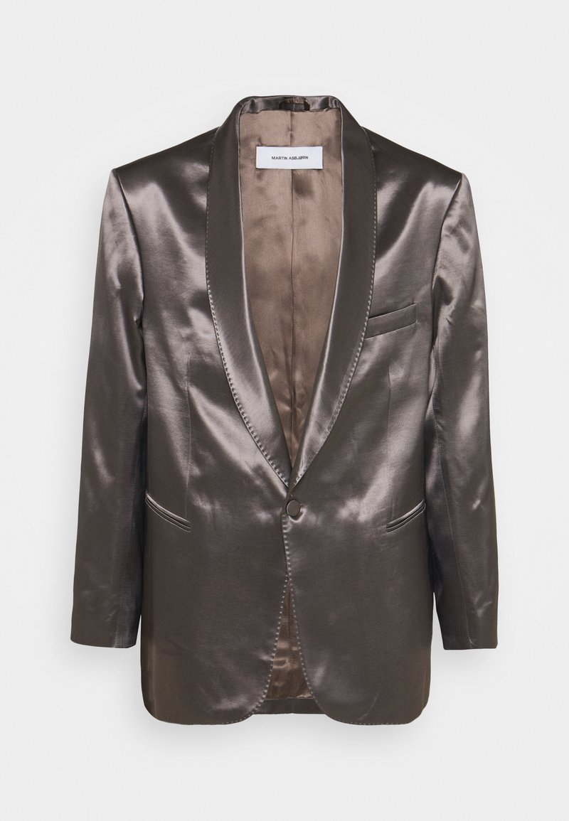 Martin Asbjørn - PARKER TUXEDO - Blazer jacket - smoky quartz