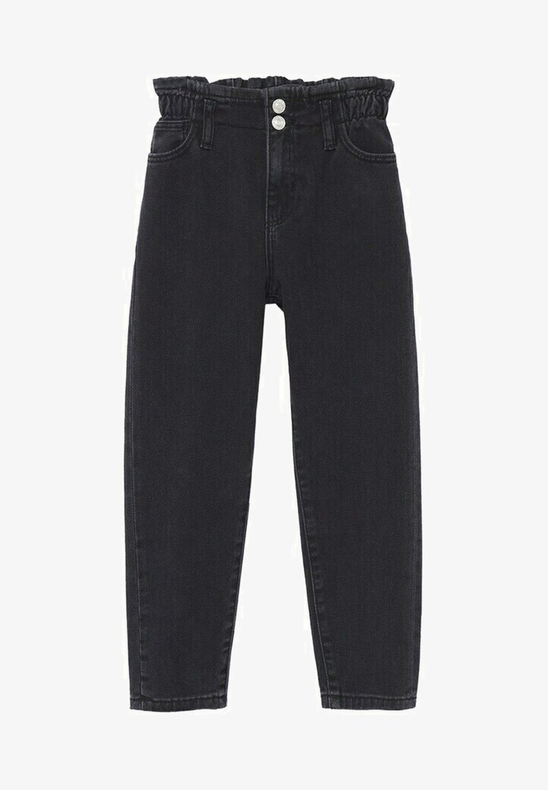 Mango - Straight leg jeans - black denim
