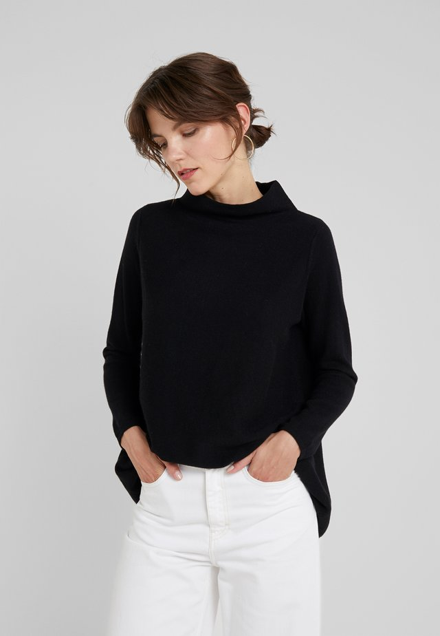 TURTLENECK - Pullover - black
