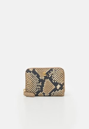 ZIP WALLET SMALL PYTHON - Portefeuille - nude
