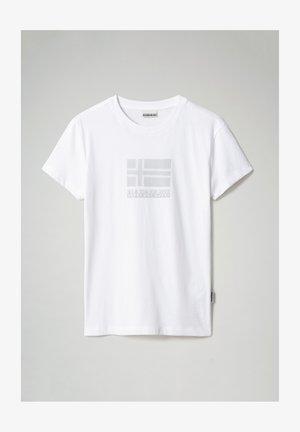SEOLL - Print T-shirt - bright white