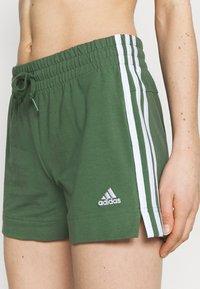 adidas Performance - Pantaloncini sportivi - greoxi/white - 3