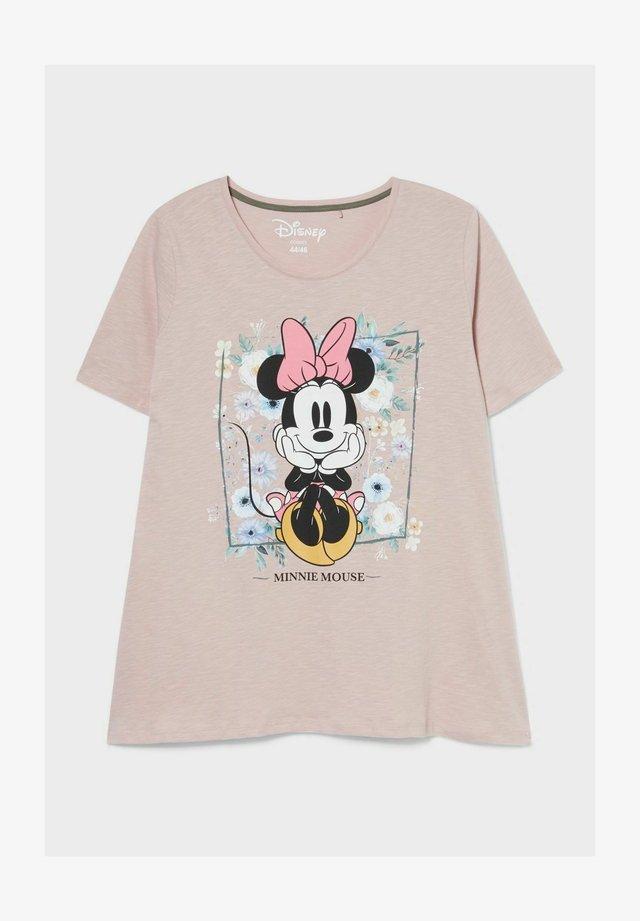 T-shirt z nadrukiem - pale pink