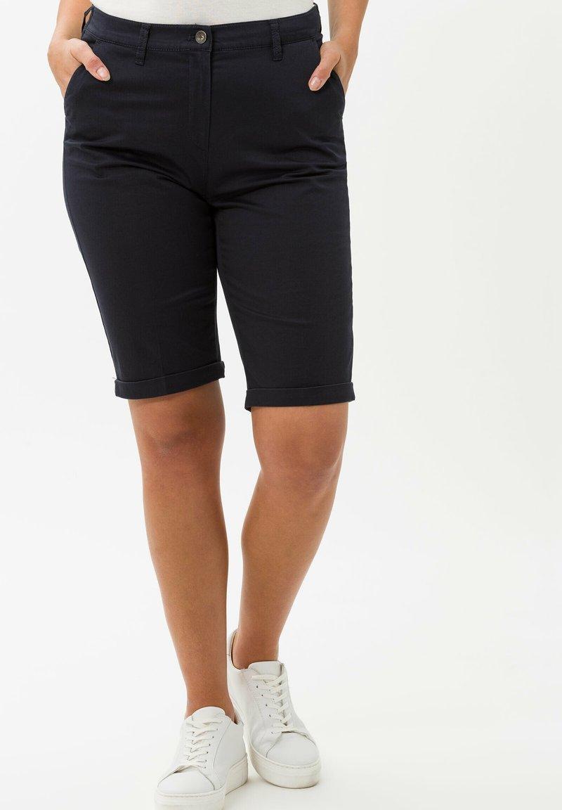BRAX - STYLE PARY - Shorts - dark blue