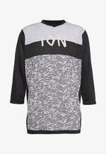 TEE SCRUB - Sports shirt - black