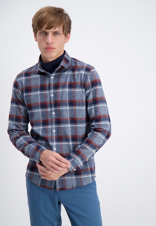 FLANNEL  - Camisa - bordeaux