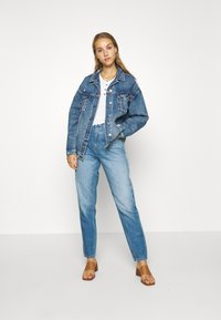 American Eagle - BOYFRIEND - Džínová bunda - blue denim - 1