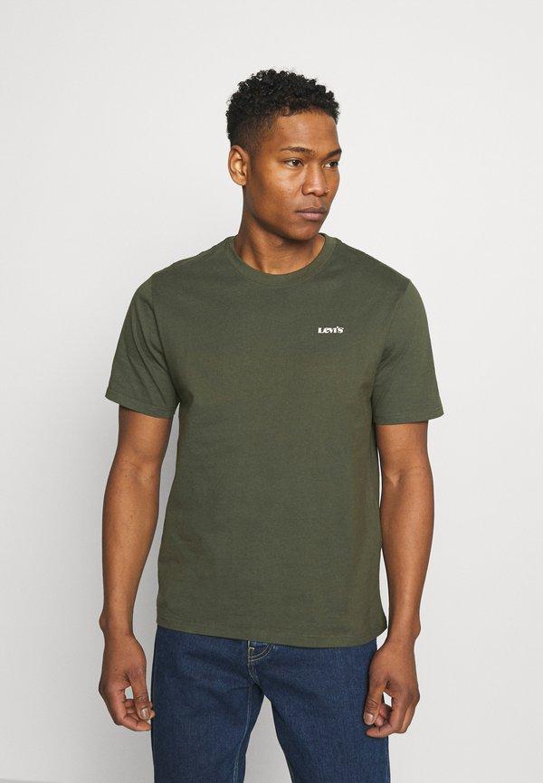 Levi's® LOGO TEE UNISEX - T-shirt basic - greens/oliwkowy Odzież Męska ERZO