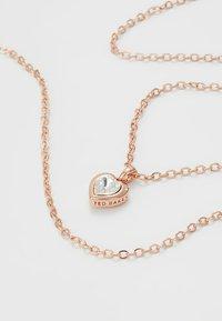 Ted Baker - HADEYA HEART GIFT SET - Earrings - rose gold-coloured - 5