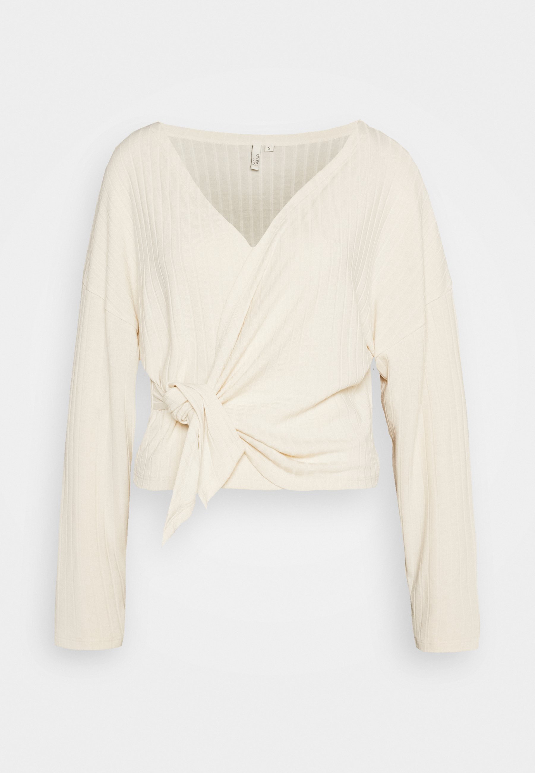 Women LUXURIOUS WRAP - Long sleeved top