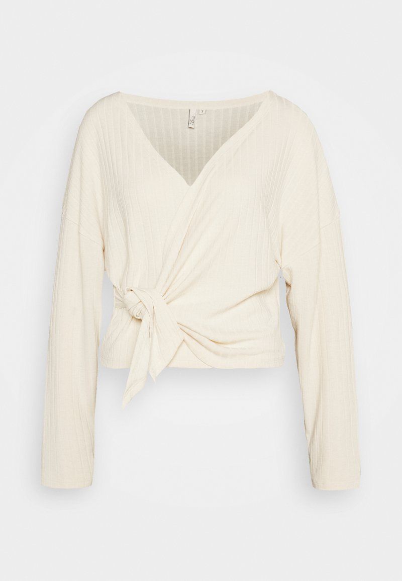Nly by Nelly - LUXURIOUS WRAP - Topper langermet - offwhite