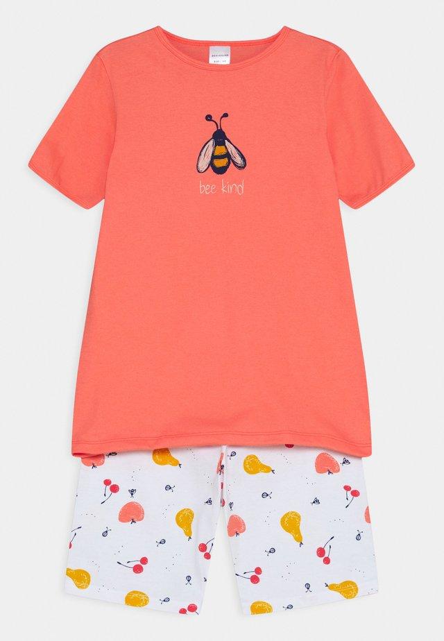 KIDS SCHLAFANZUG KURZ - Pyjama - koralle