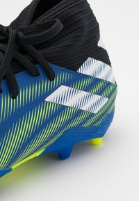 adidas Performance - NEMEZIZ 3 FG - Moulded stud football boots - royal blue/footwear white/solar yellow - 5