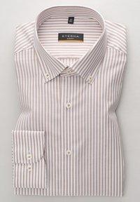 Eterna - SLIM FIT - Shirt - beige weiss - 5