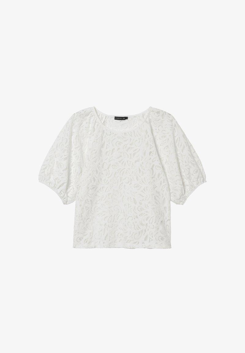 STOCKH LM - Print T-shirt - white