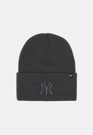 MLB NEW YORK YANKEES HAYMAKER CUFF UNISEX - Beanie - charcoal