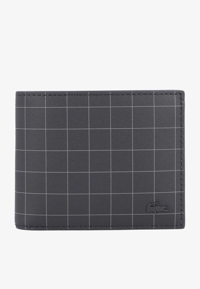 BILLFOLD LEDER - Wallet - allover cheks graphite