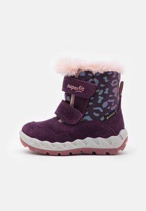 ICEBIRD - Winter boots - lila/rosa