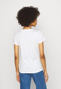 GAP - OUTLINE TEE - T-shirt z nadrukiem - snowflake/milk - 2